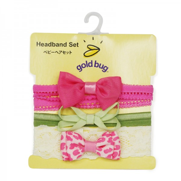 3pcs Bows Headband Set