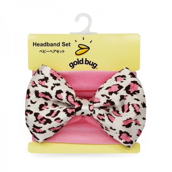 Loepard Big Bow Headband