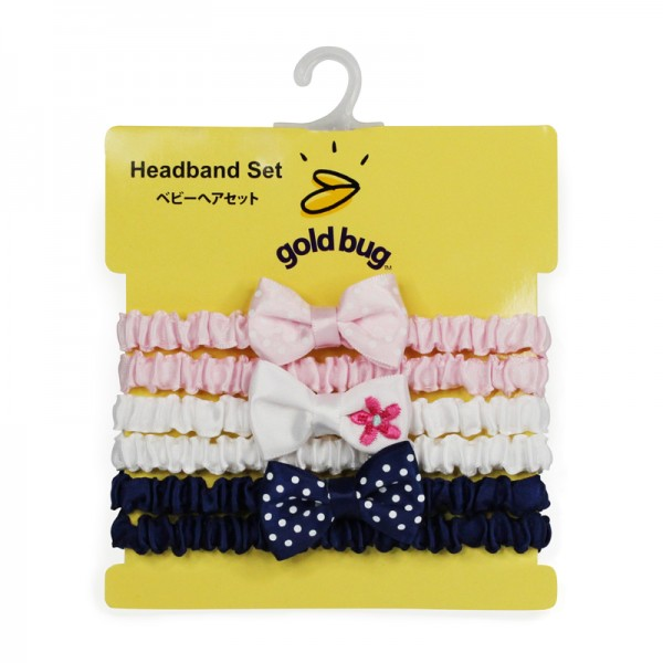 3pcs Satin Headband Set