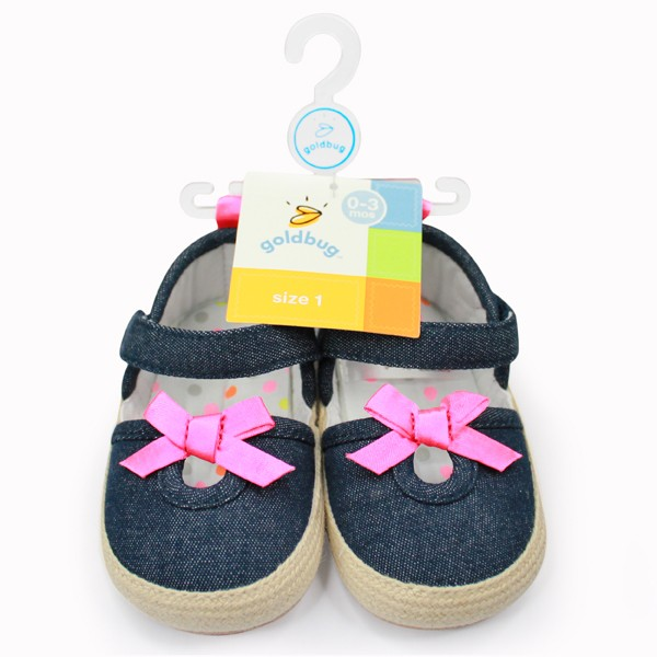 Girls Chambray Espadrille