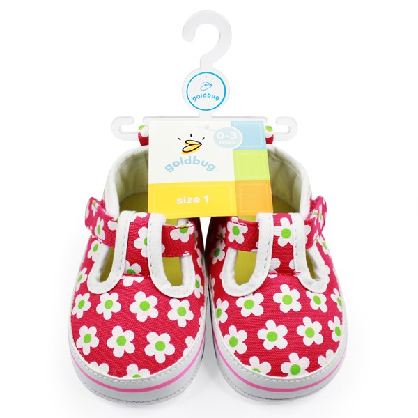 Girls Flower Print Sneaker